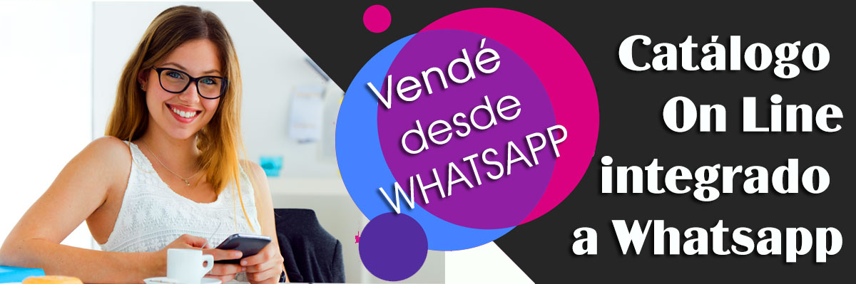 Desarrollo de Catalogo online integrado a Whatsapp